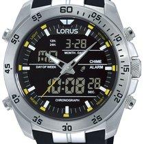 Lorus Stahl 46mm Quarz RW619AX9 neu