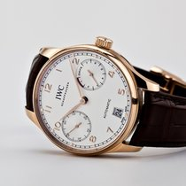 IWC Portuguese Automatic IW500701 Oanvänd 42.3mm Automatisk