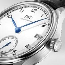 IWC Portugieser Handaufzug neu 2019 Handaufzug Uhr mit Original-Box und Original-Papieren IW510212 Limited Edition 150 years IWC