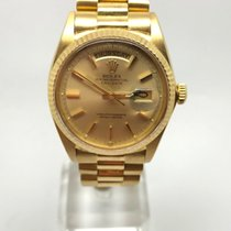 Rolex 1803 Yellow gold 1971 Day-Date 36 36mm pre-owned United Kingdom, Leicester
