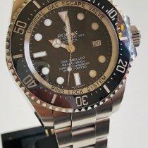 Rolex Sea-Dweller Deepsea Ocel 44mm Černá Bez čísel
