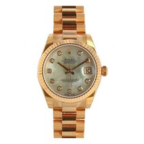 Rolex new Automatic 31mm Rose gold