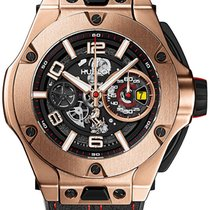 Hublot Big Bang Ferrari new 2021 Automatic Chronograph Watch with original box and original papers 402.ox.0138.wr