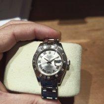 Rolex Lady-Datejust Pearlmaster Oro blanco 29mm Blanco Romanos España, Marbella
