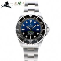 Rolex Stal 44mm Niebieski