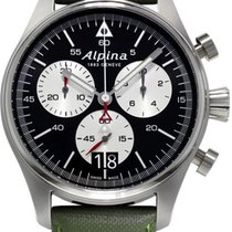 Alpina Geneve Startimer Pilot AL-372BS4S6 Herrenchronograph...