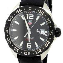 TAG Heuer Formula 1 Black Dial Black Leather