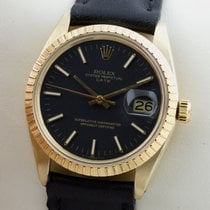 Rolex Oyster Perpetual Date 14K Gold Gelbgold Automatic Herrenuhr