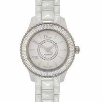 Dior VIII White Ceramic, White Gold & Diamond Ladies Automatic...