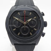 Tudor Fastrider Black Shield 42000cn Chronograph 42mm On Black...