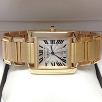 Cartier Tank Francaise W50001R2 Yellow Gold - Serviced by Cartier