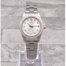 Rolex Oyster Perpetual With Custom Diamond Dial & Bezel
