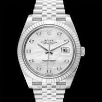 Rolex Datejust White gold 41.00mm White United States of America, California, San Mateo