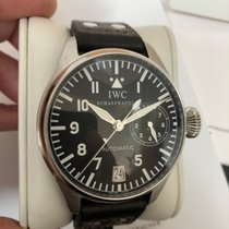 IWC 46mm Automatic 2005 pre-owned Big Pilot Black