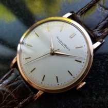 IWC Men's 18K Rose Gold Manual Hand-Wind Dress Watch c.1950s...