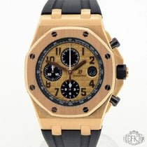 Audemars Piguet Chronograf 42mm Automatika 2016 použité Royal Oak Offshore Chronograph Zlatá