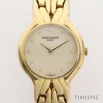 Patek Philippe La Flamme Ladies 18K Yellow Gold Diamond Dial