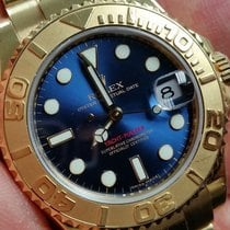 Rolex Yacht-Master (Submodel) pre-owned 35mm Yellow gold