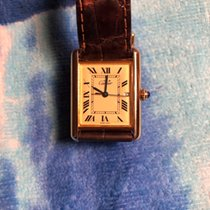 Cartier Tank Vermeil pre-owned 26mm Yellow gold