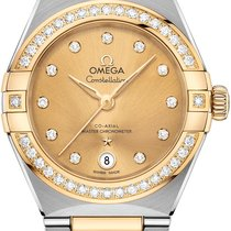 Omega Gold/Steel 29mm Automatic 131.25.29.20.58.001 new United States of America, New York, Airmont