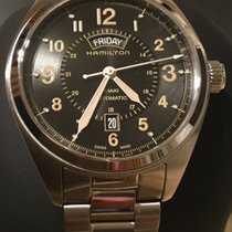 Hamilton Khaki Field Day Date new 2018 Automatic Watch with original box and original papers H70505833