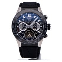 TAG Heuer Carrera Heuer-02T Titanium 45mm Transparent No numerals