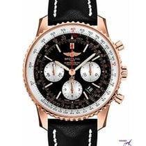 Breitling Navitimer 01 Rose gold 43mm Black No numerals