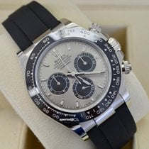 Rolex White gold Automatic No numerals 40mm new Daytona