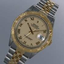 Rolex Datejust Turn-O-Graph Gold/Steel 36mm Champagne
