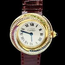 Cartier Trinity Yellow gold 27mm White Roman numerals United States of America, New York, New York
