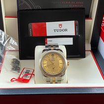 Tudor Glamour Double Date Gold/Stahl 42mm Gold Keine Ziffern
