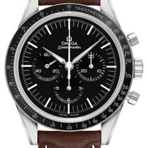 Omega Speedmaster Professional Moonwatch Steel Black No numerals United States of America, Iowa, Des Moines