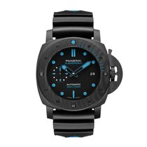 Panerai Carbon Automatic Black new Luminor GMT Automatic