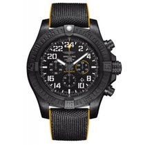 Breitling Avenger Hurricane Steel 50mm Black Arabic numerals
