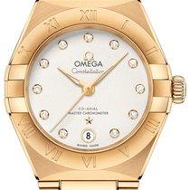 Omega Constellation Oro amarillo 29mm Plata