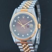 Rolex Datejust Or/Acier 36mm Rouge