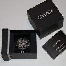 Citizen Promaster Sky pre-owned 45mm Black Chronograph Date Titanium