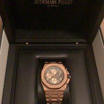 Audemars Piguet Or rose Remontage automatique Or Arabes 42mm nouveau Royal Oak Offshore Chronograph
