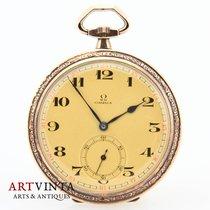 Omega Omega Frackuhr Silber Pocketwatch Silver 1929 gebraucht