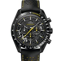 Omega Speedmaster Professional Moonwatch Carbon 44.25mm Black No numerals United States of America, New York, New York