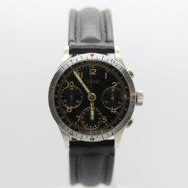 Leonidas Stahl 38mm Handaufzug Vintage Chronograph gebraucht Deutschland, Berlin