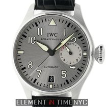 IWC Big Pilot Steel 46mm Silver Arabic numerals United States of America, New York, New York