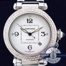 Cartier PASHA DIAMOND BEZEL LIKE NEW POLISHED