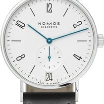 NOMOS Tangente 38 Datum Steel 37.5mm White United States of America, New York, Airmont