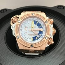 Hublot King Power Oceanographic White Dial Chronograph