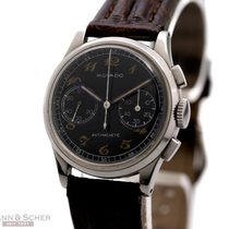 Movado Vintage Chronograph Ref-19001 Stainless Steel Bj-1945