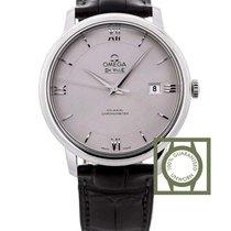 Omega De Ville Prestige Co-Axial 39.5 Stainless Steel / Silver...