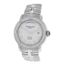 Raymond Weil Mens  Parsifal 2844 Steel 40MM Day Date