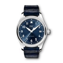 IWC Pilot's Watch Automatic 36 Steel 36mm Blue Arabic numerals