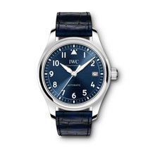 IWC Pilot's Watch Automatic 36 Acier 36mm Bleu Arabes France, Paris